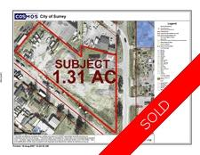Bridgeview Industrial Land for sale:  Studio  (Listed 2016-11-20)